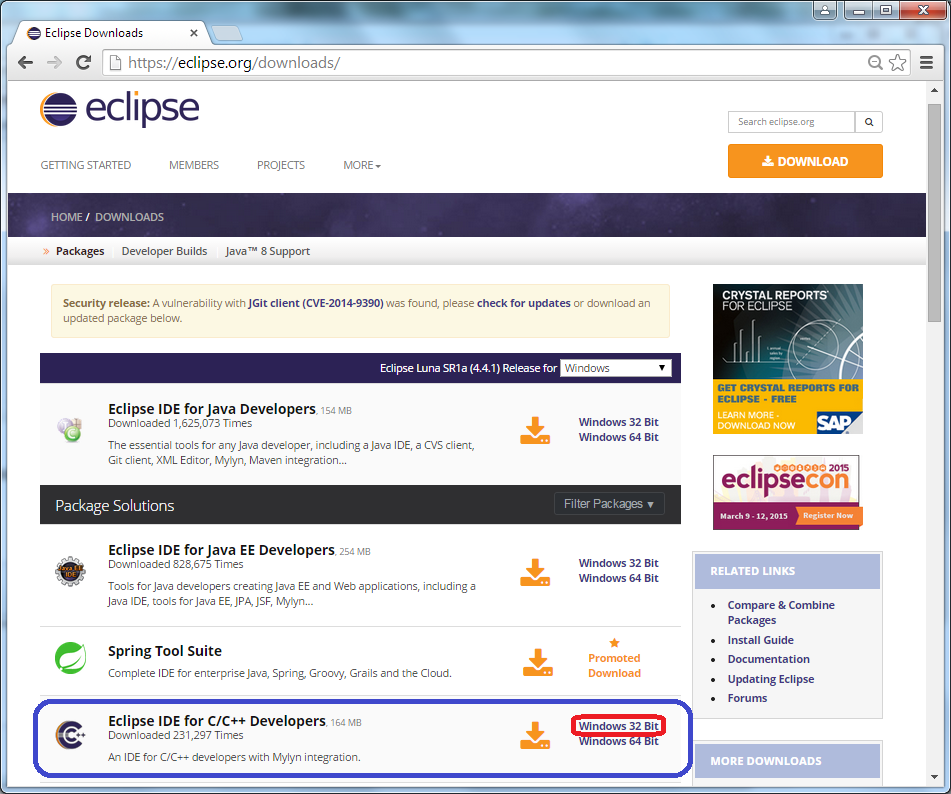 EclipseCDT